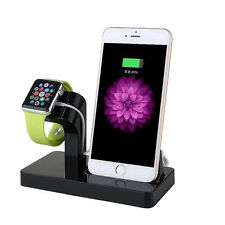 Charging Dock Station Cradle Stand Holder for Apple Watch iPhone 6s 7 8 Plus X