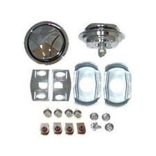 70 MUSTANG CHROME HOOD LOCK KIT, ORIGINAL TOOLING