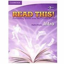 Read This! Intro Level Student Bk: Fascinating Stories from Content Area ESL NEW