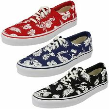 UNISEX VANS OFF THE WALL LACE UP CANVAS SHOES STYLE ERA