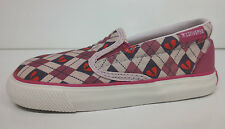 Girls Converse All Star Pink Trainers - Inf Skidgrip EV 7X671