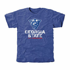 Georgia State Panthers Classic Primary Tri-Blend T-Shirt - Royal Blue - College