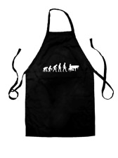 Evolution of Man Piano - Unisex Fit Apron - 8 Colours - Music - Present - Gift