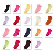 NWT Gymboree Cotton Blend Solid Bow Socks NEW FREE US SHIPPING