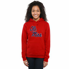Ole Miss Rebels Women's Scarlet Classic Primary Pullover Hoodie - College