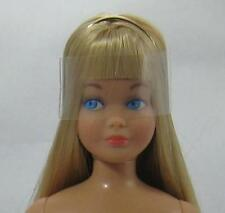 VINTAGE BARBIE SKIPPER REPRO/REPRODUCTION-NUDE DOLL-BLONDE HAIR-MINT