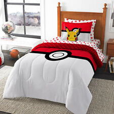 Pokemon Bed-In-A-Bag Collectable Bedroom Blanket & Sheets Set
