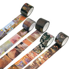 Historical Artists' Painting Style Washi Masking Paper Adhesive Tapes Decor DIY