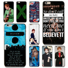 Ed Sheeran Transparent Cover Case for iPhone X 8 7 6 6S Plus 5 5S SE