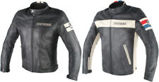 Dainese Mens HF D1 Soft-Armored Leather Jacket