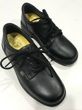 Roc Boots Larrikin Black Leather School Shoes