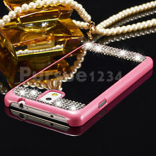 Luxury Mirror Bling Crystal Hard Back Case Cover For Samsung Galaxy