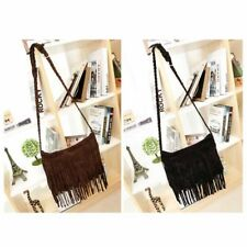 Hot Womens Bag Popular Faux Suede Fringe Tassel Shoulder Bags Women Messenger