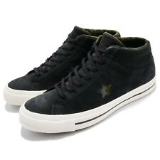 Converse One Star Mid Black Camo Mens Casual Shoes Street Sneakers 159747C
