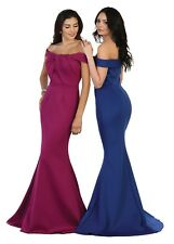 TheDressOutlet Long Homecoming Dress Formal Plus Size Prom Evening Gown