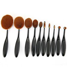 10pcs Beauty Cream Cosmetic Foundation Mixing Tools  Puff  Batch Power Makeup...