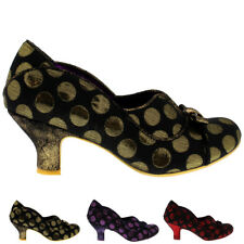Womens Poetic Licence Hold Up Party Polka Dot Court Shoes Low Heel US 5.5-11.5