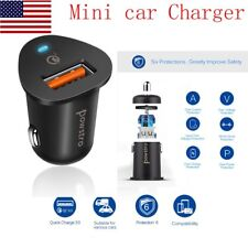 USB QC3.0 Fast Car Charger Qualcomm Quick Charge 3.0 for iphone Samsung HTC GPS
