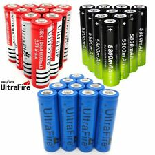 18650 Battery Charger 3.7V Rechargeable Li-ion For Flashlight Torch Battery