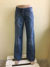 Just Cavalli women's jeans NWT Cotton with linen