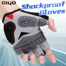 GIYO Summer Cycling Gloves Gel Half Finger Shockproof Sport Gym Gloves MTB Mount