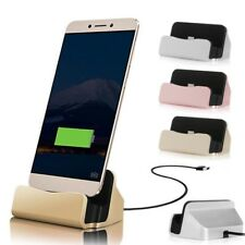 Universal Micro USB Sync Desktop Charging Dock Station Charger Stand For Android