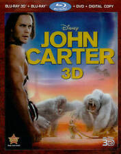 John Carter (Four-Disc Combo: Blu-ray 3D Blu-ray