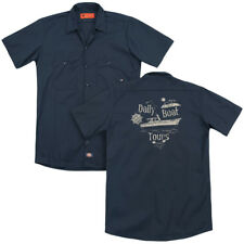 Gilligan's Island SS MINNOW Daily Boat Tours Adult Dickies Work Shirt All Sizes