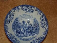 JOHNSON BROTHERS (HANLEY) STOKE-ON-TRENT COACHING SCENES IRONSTONE SERVING BOWL