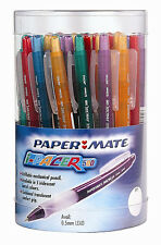 1 pc x Papermate Translucent Pacer 500 Mechanical Pencil 0.5mm, 4 Colors Barrel