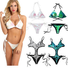 Sexy Women Bikini Set Push-up Monokini Padded Bra Top Swimsuit Swimwear Bathing