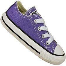Converse Baby All Star Chuck Taylor Shoes Hollyhock Purple Children's Sneakers