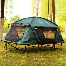 Fishing Tent Cot Folding Waterproof 1/2 Person Hiking Camping Tent w/ Carry Bag