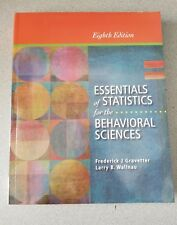 Essentials of Statistics for the Behavioral Sciences by Larry B. Wallnau and...