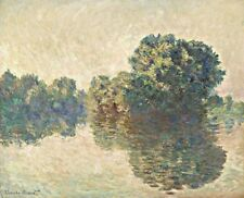 The Seine at Giverny Painting by Claude Monet Art Reproduction