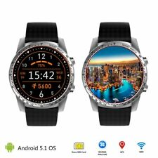 KW99 3G Android 5.1 Smart Watch 8GB Bluetooth Heart Rate Steps Tracker GPS WIFI
