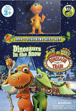 Dinosaur Train: Dinosaurs in the Snow (DVD, 2014, With Toy) New