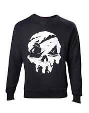 Sea Of Thieves Sweat-Shirt Skull Logo nouveau officiel Xbox Gamer Homme