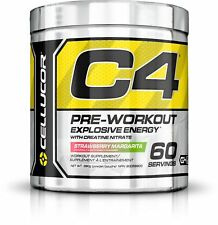 Cellucor C4 Pre Workout Energy Drink w/Creatine & Beta Alanine, 30/60 Servings