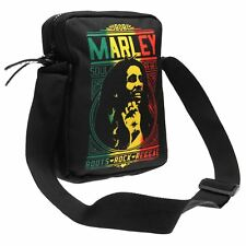 Bob Marley Roots Rocksax Band Crossbody Bag Black Band Shoulder Bag Carryall
