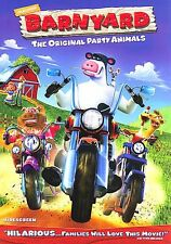 Barnyard (DVD, 2006, Full Frame) Animated, Free Book Cover Included NEW