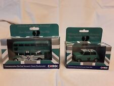 Corgi - 70th Anniversary of HM Queen Elizabeth II Routemaster Bus and Mini
