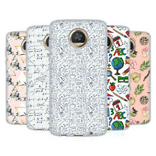 OFFICIAL JULIA BADEEVA ASSORTED PATTERNS 3 SOFT GEL CASE FOR MOTOROLA PHONES