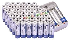 50x3000mAh AA 1.2V Ni-MH rechargeable battery BTY for RC Toy Camera MP3+Charger