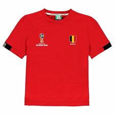 FIFA Spain Core T Shirt Mens Chilli Red Top Tee Tshirt Soccer Football