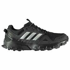 adidas Rockadia Trail Running Shoes Mens Black/Grey Jogging Trainers Sneakers