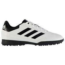 adidas Goletto Astro AG Artificial Grass Trainers Juniors White/Red Soccer Shoes