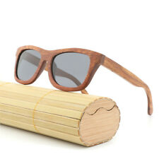 Retro Wood Frame Polarized UV400 UV Protection Sunglasses for Women Men With Box