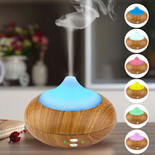 LED Aroma Humidifier Air Aromatherapy Essential Oil Diffuser Portable Atomizer