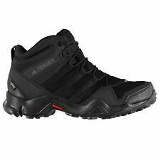 adidas TERREX AX2R Mid GTX Walking Shoes Mens Black/Grey Five Hiking Boots